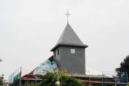 Sanierung des Daches 2