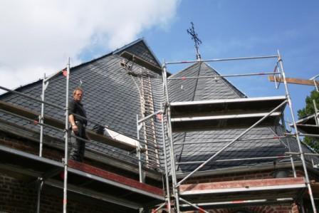 Sanierung des Daches 4
