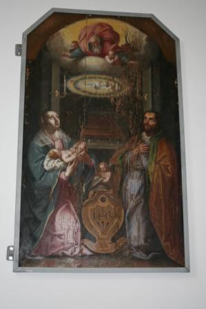 Restaurierung des Tafelbildes