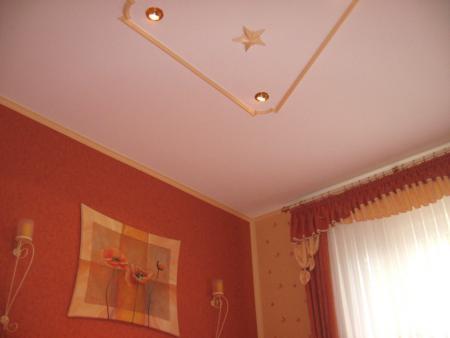 dekoriertes Zimmer