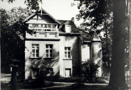 alte Aufnahme (vor 1945) der Hoffmann Villa