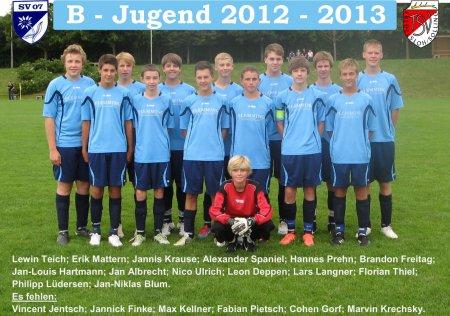 B-Jugend 2012-2013