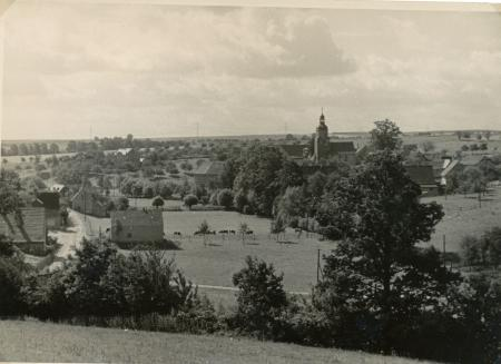 Blick auf Kirche
