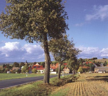 Blick auf den Ortsteil Otterstedt