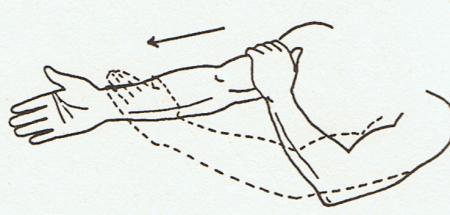 Armmassage