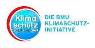 Externer Link zur Klimaschutzinitiative; Bild zeigt den Text Klimaschutz zahlt sich aus! Die BMU Klimaschutz Initiative