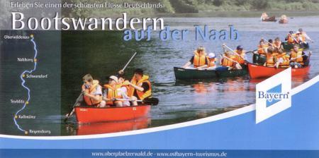 Bootswandern Naab