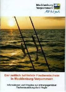 Broschüre zum Touristenfischereischein