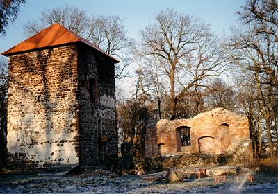 Burgruine Bärwalde
