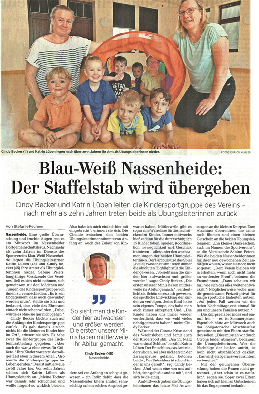 Kindersport_MAZ vom 19.06.2020