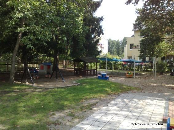 Spielplatz und Garten der Kindertagesstätte