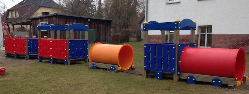 Spielplatz und Garten der Kindertagesstätte 3