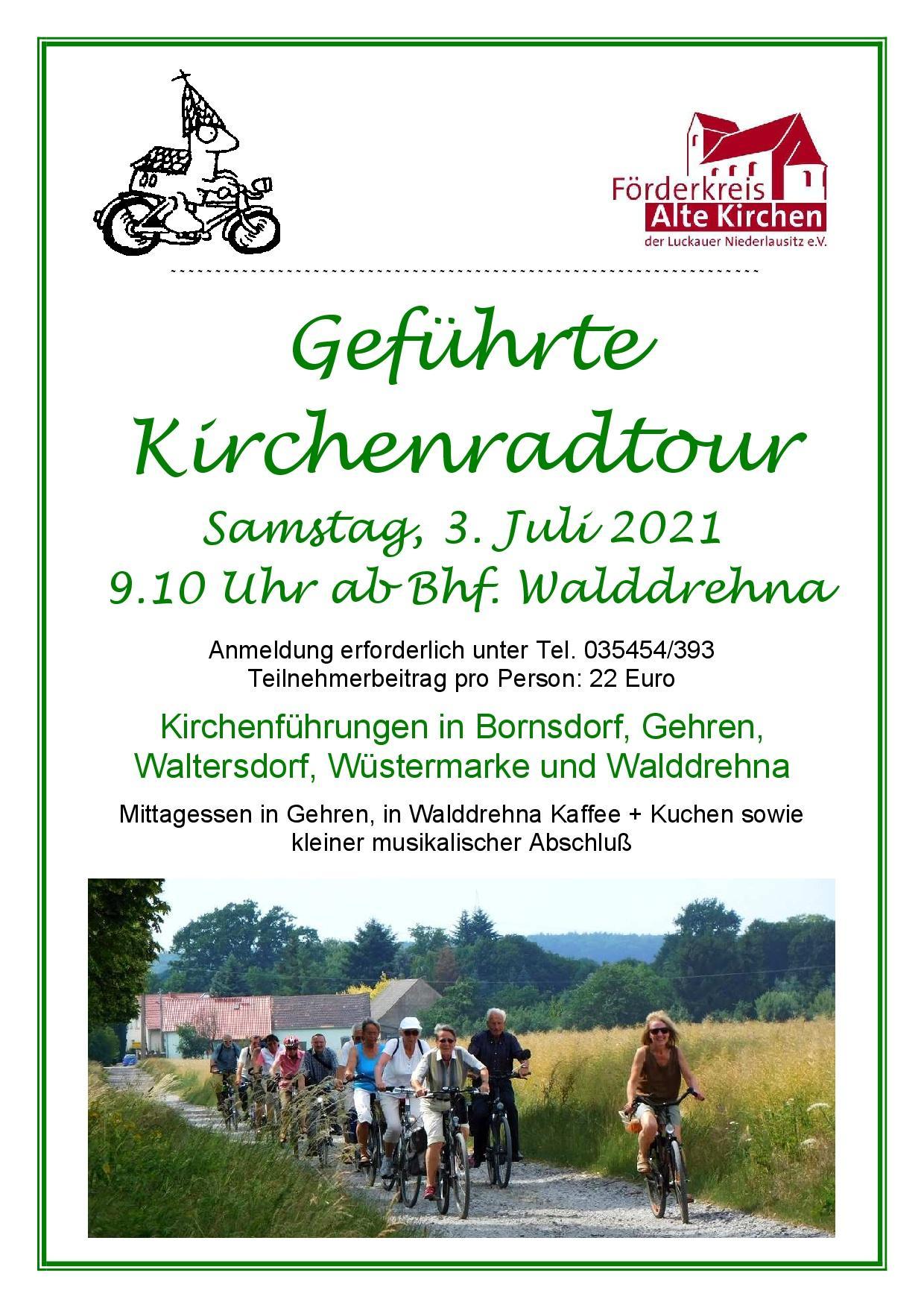 2021-7 Geführte Kirchenradtour