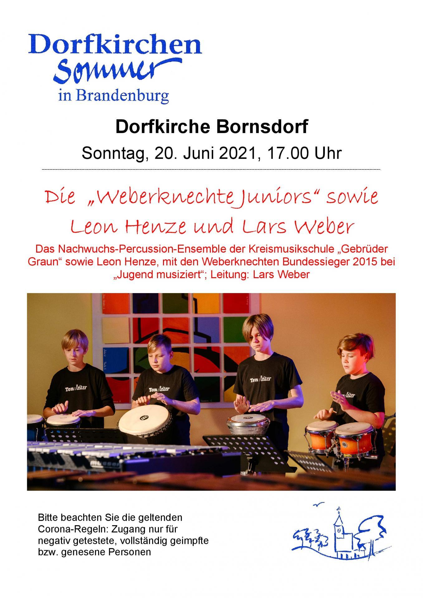 Plakat Bornsdorf_Weberknechte 2021