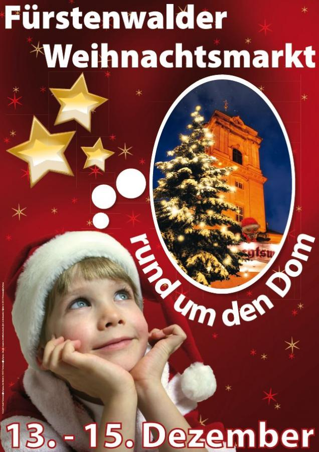 Plakat Weihnachtsmarkt