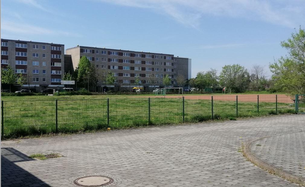 Baufeld Spreeschwimmhalle 2.0, Foto: Stadt Fürstenwalde/Spree, 2021