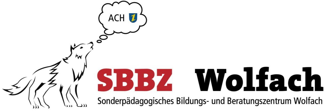 Logo SBBZ mit Wolf