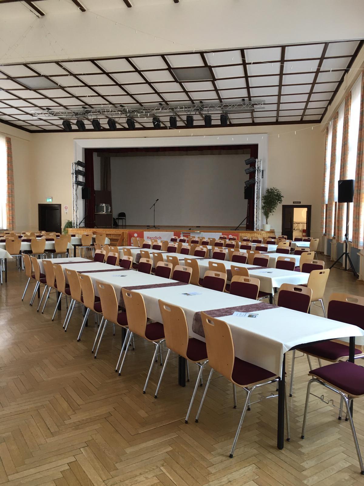 Saal Bürgerhaus