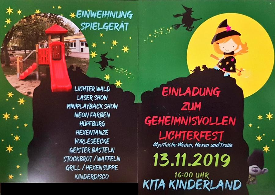 2019 Flyer Lichterfest
