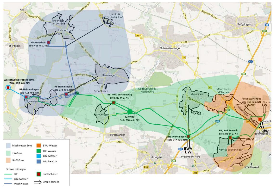 Geografische Übersicht Verbandsgebiet