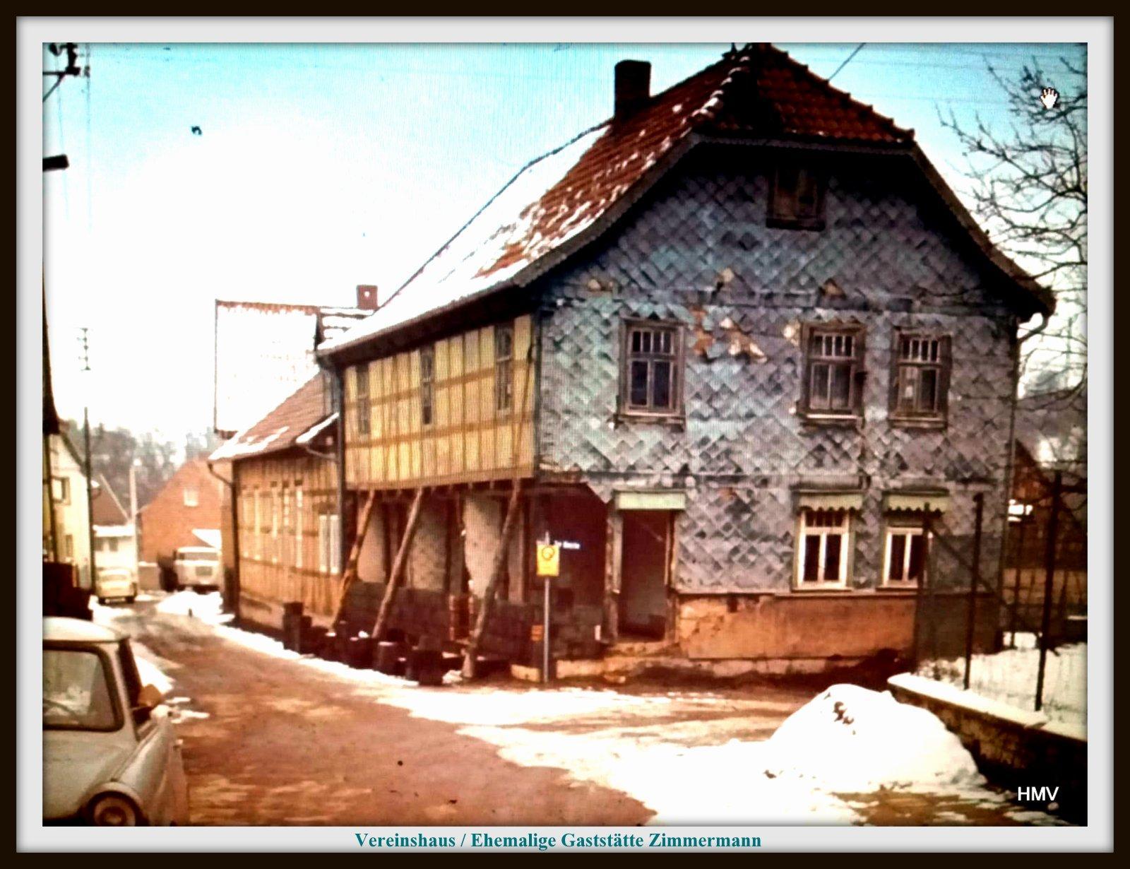 Sanierung Vereinshaus