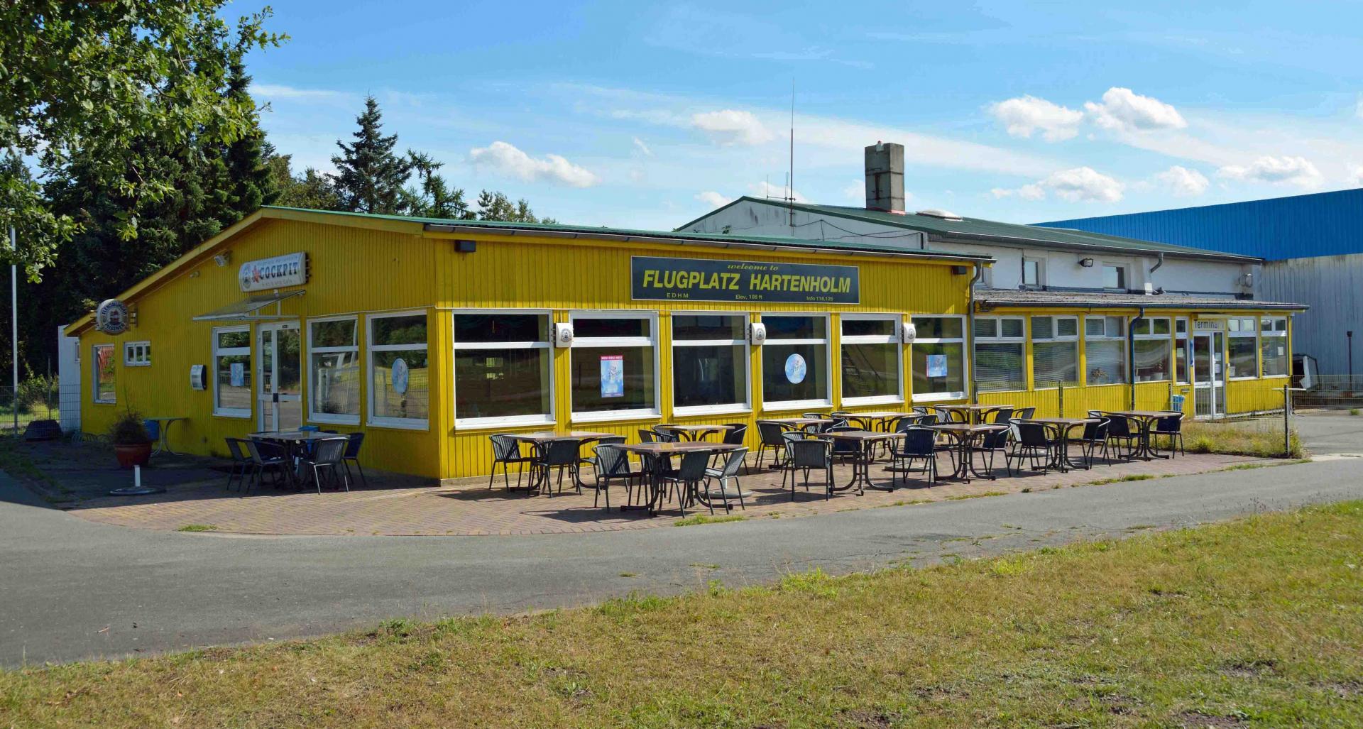 Flugplatzrestaurant Cockpit (2013)