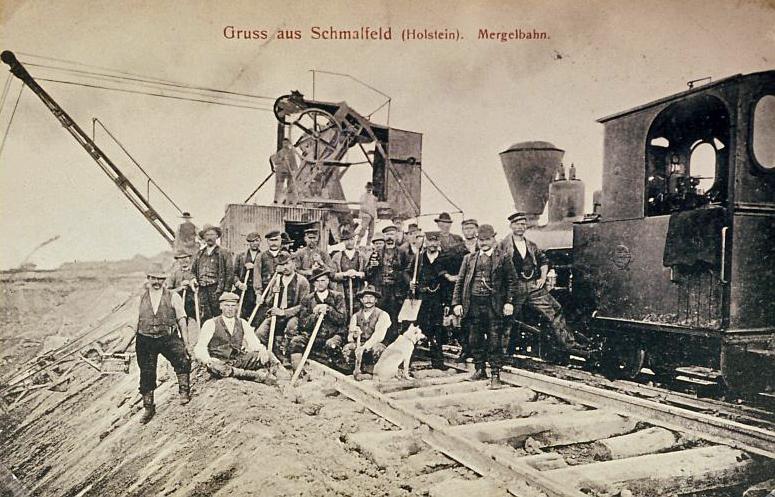 Postkarte - Gruß aus Schmalfeld