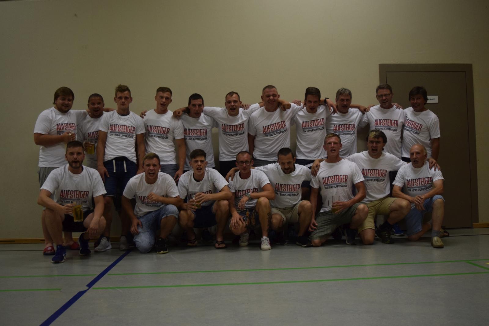 Männermannschaft Aufsteiger 2020; Foto: Marcel Dengler