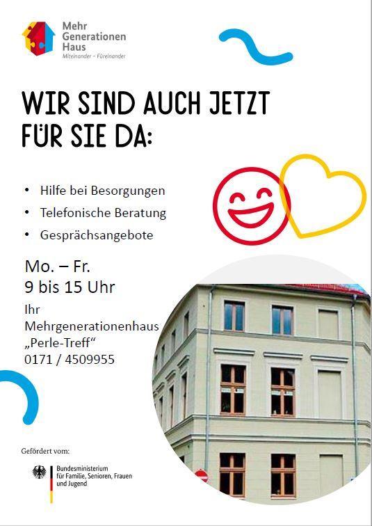 Plakat MGH Unterstützungsangebot