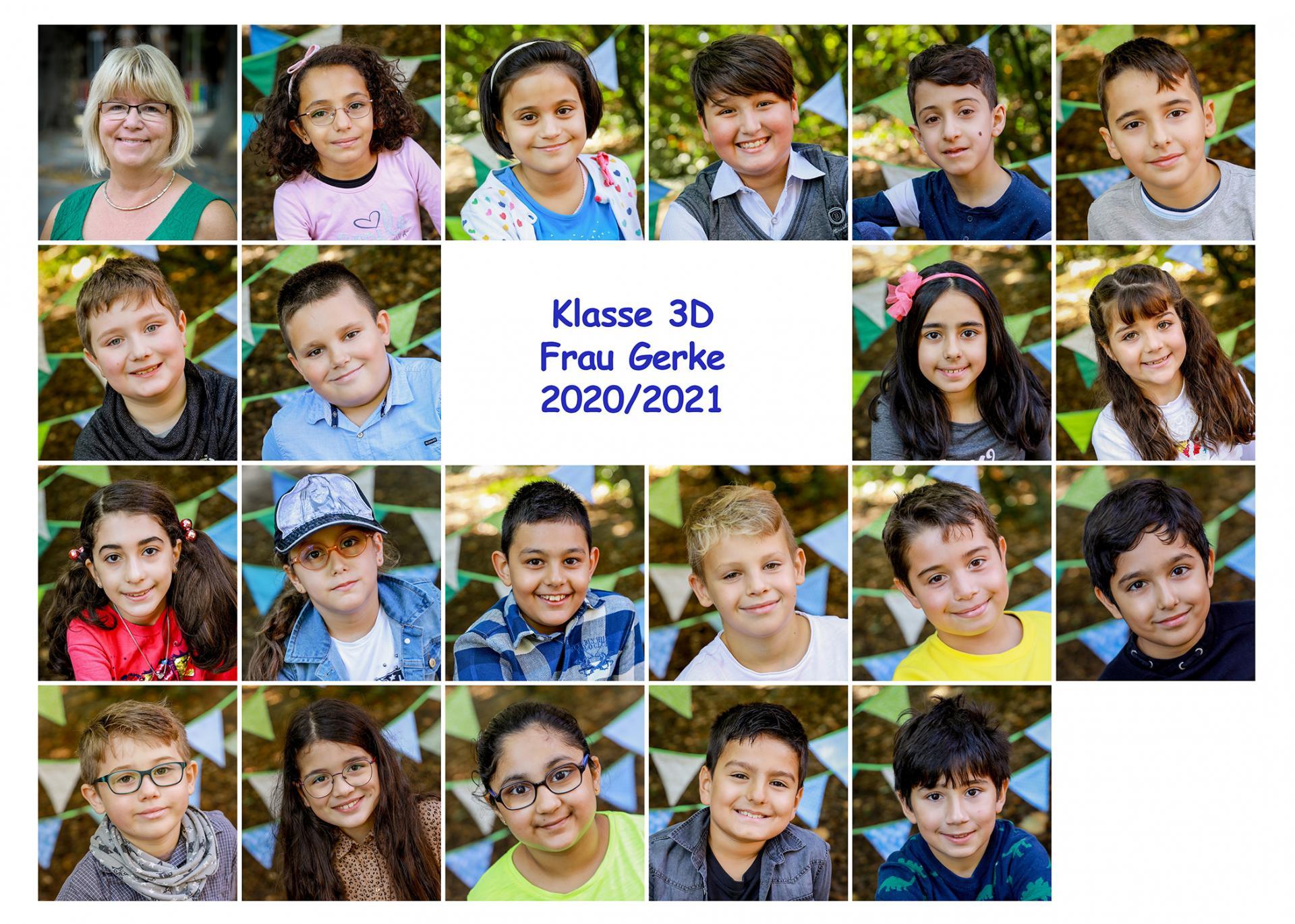 Klasse 3D Schuljahr 20/21