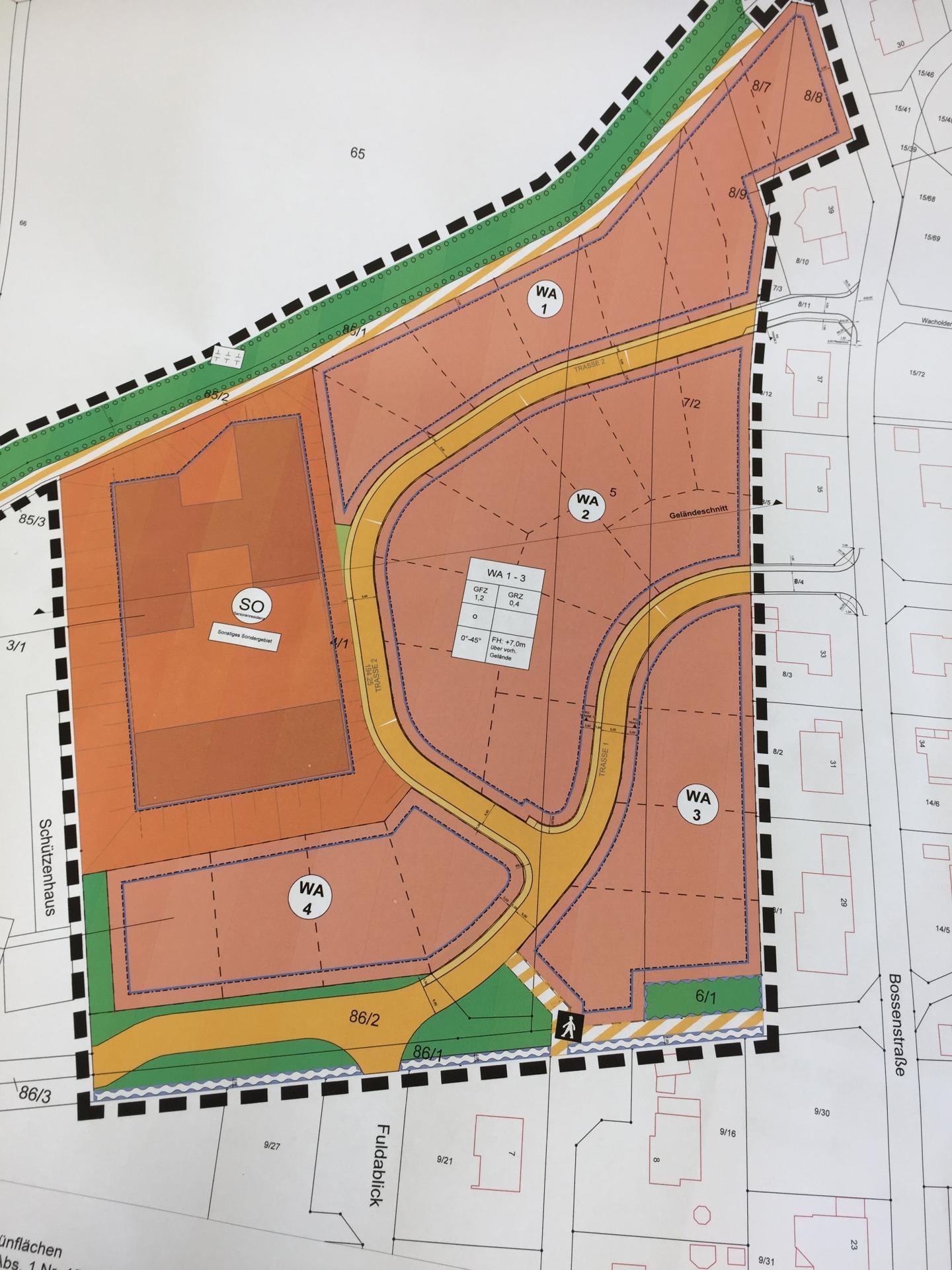 Baugebiet Kuttendelle, OT Heinebach