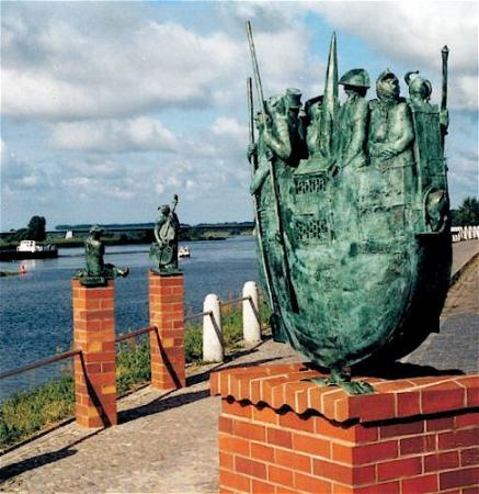 Skulptur Zeitreise