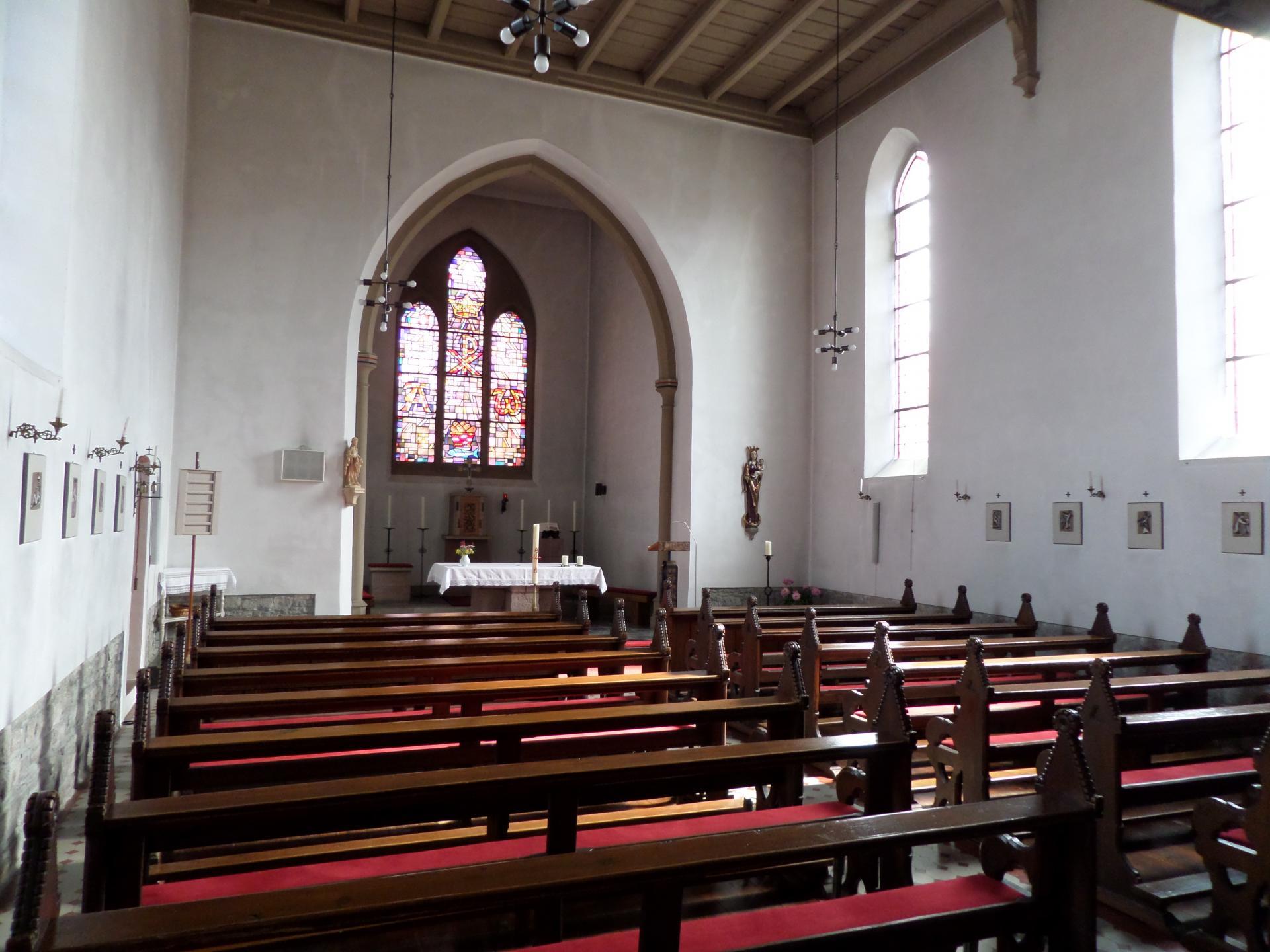 Kirche Alsleben innen