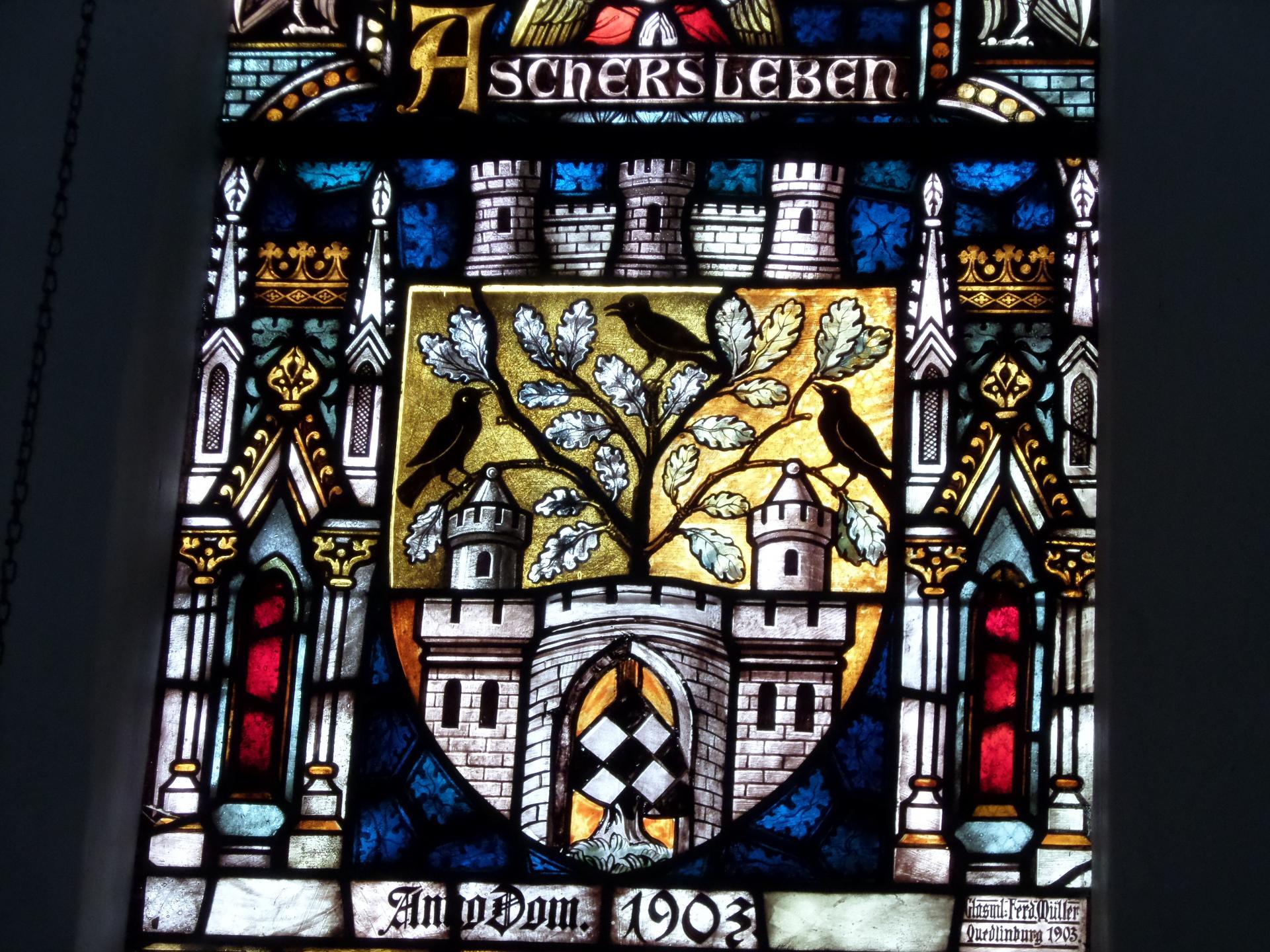 Kirche Aschersleben Fenster