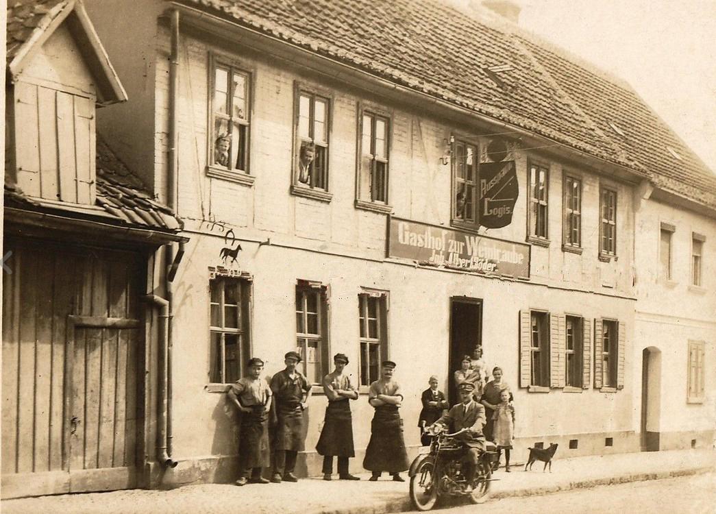"""Gaststätte """"Zur Weintraube"""""""
