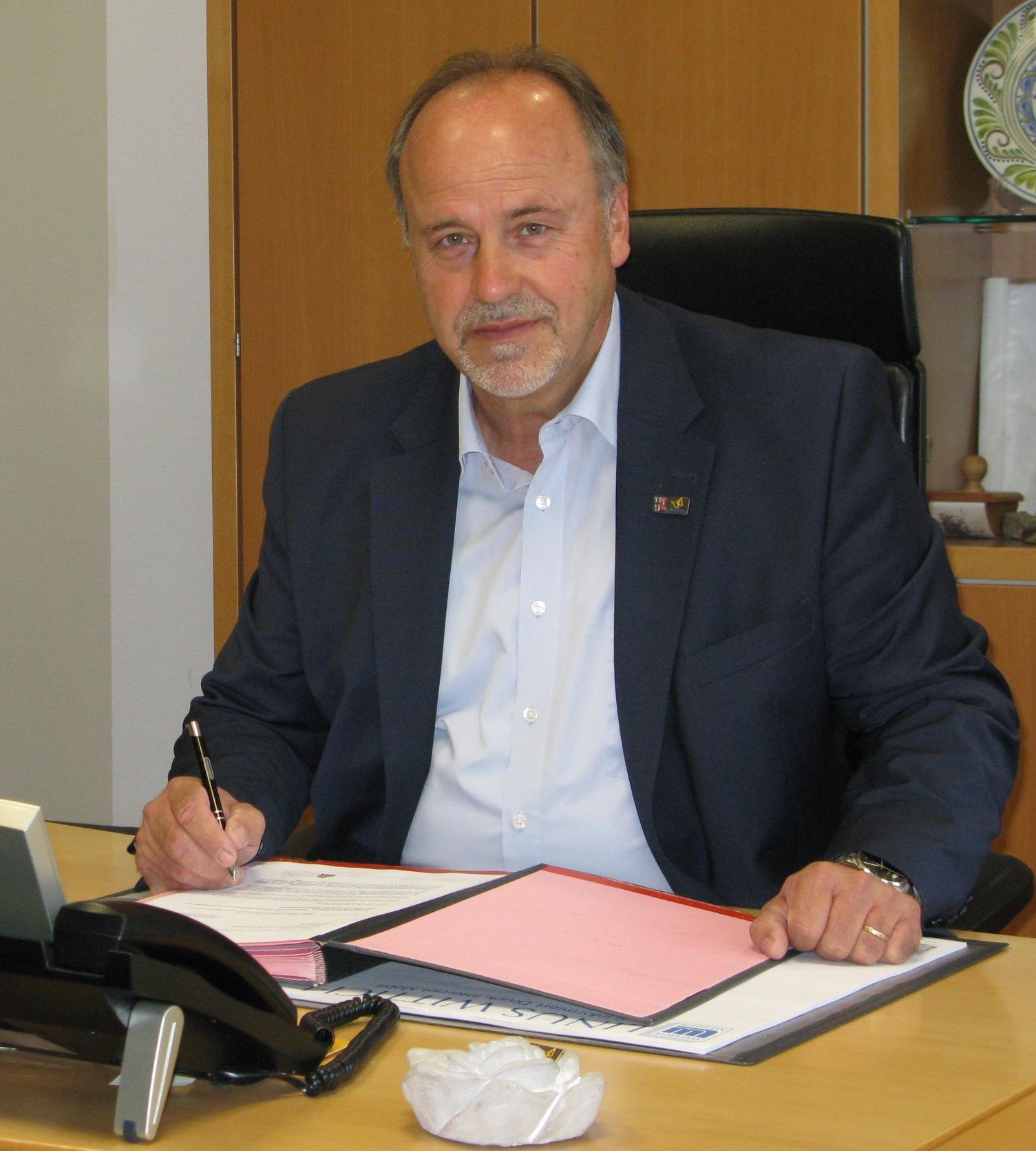 Bürgermeister Werner Dietrich