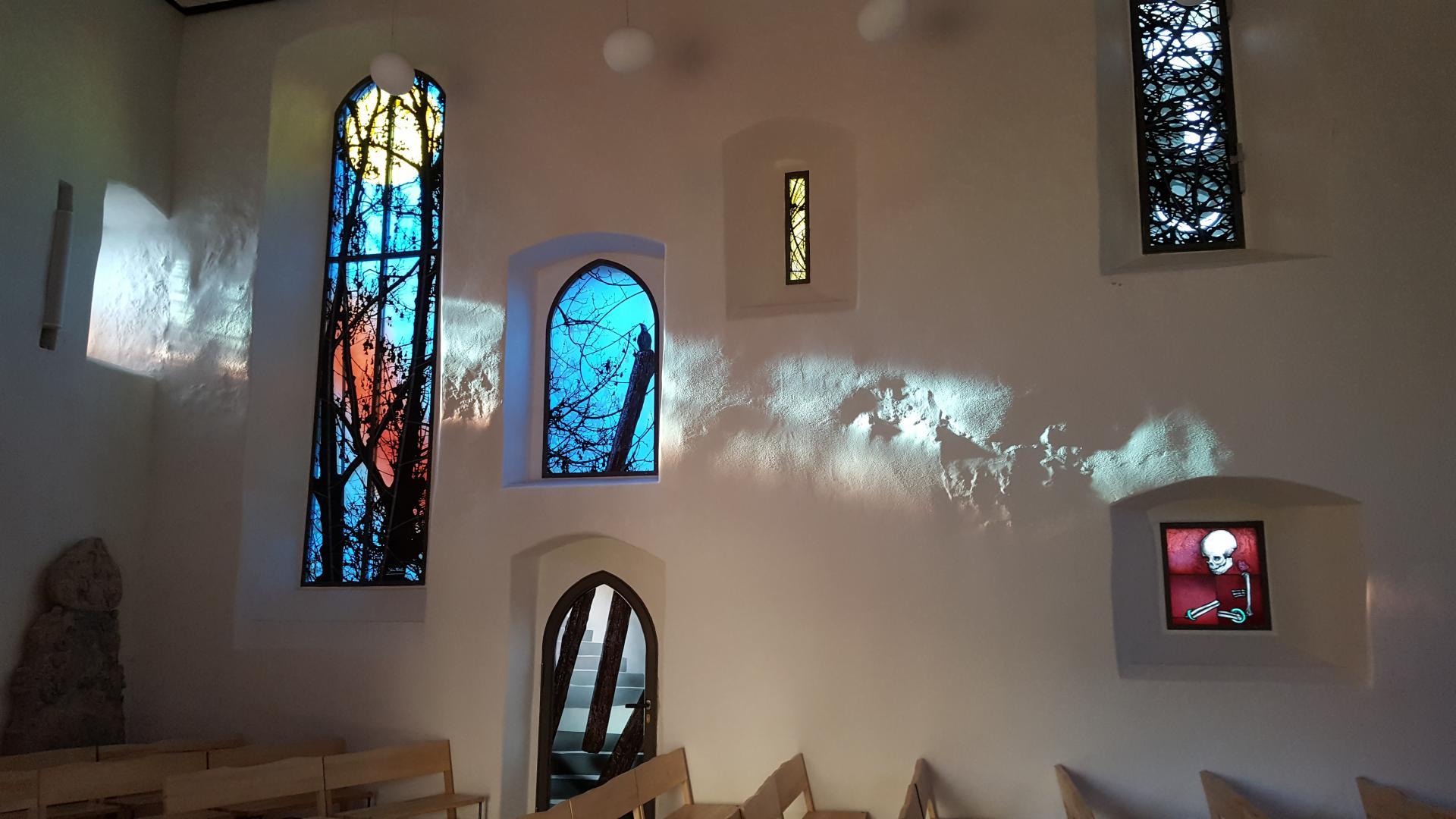 Ansicht Glasfenster