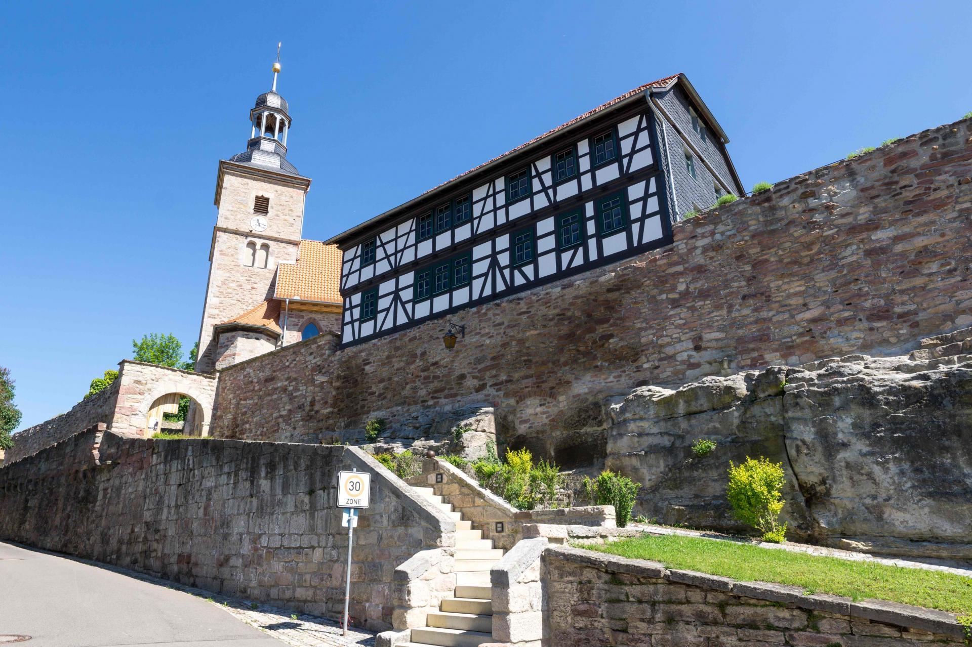 Ansicht Kirchenburg