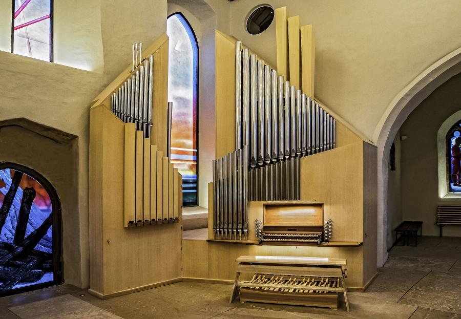 Orgel Gesamtansicht