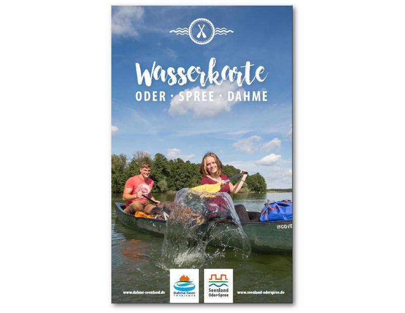 Wasserkarte Oder-Spree-Dahme