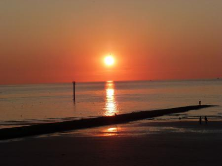 Sonnenuntergang am Nordstrand