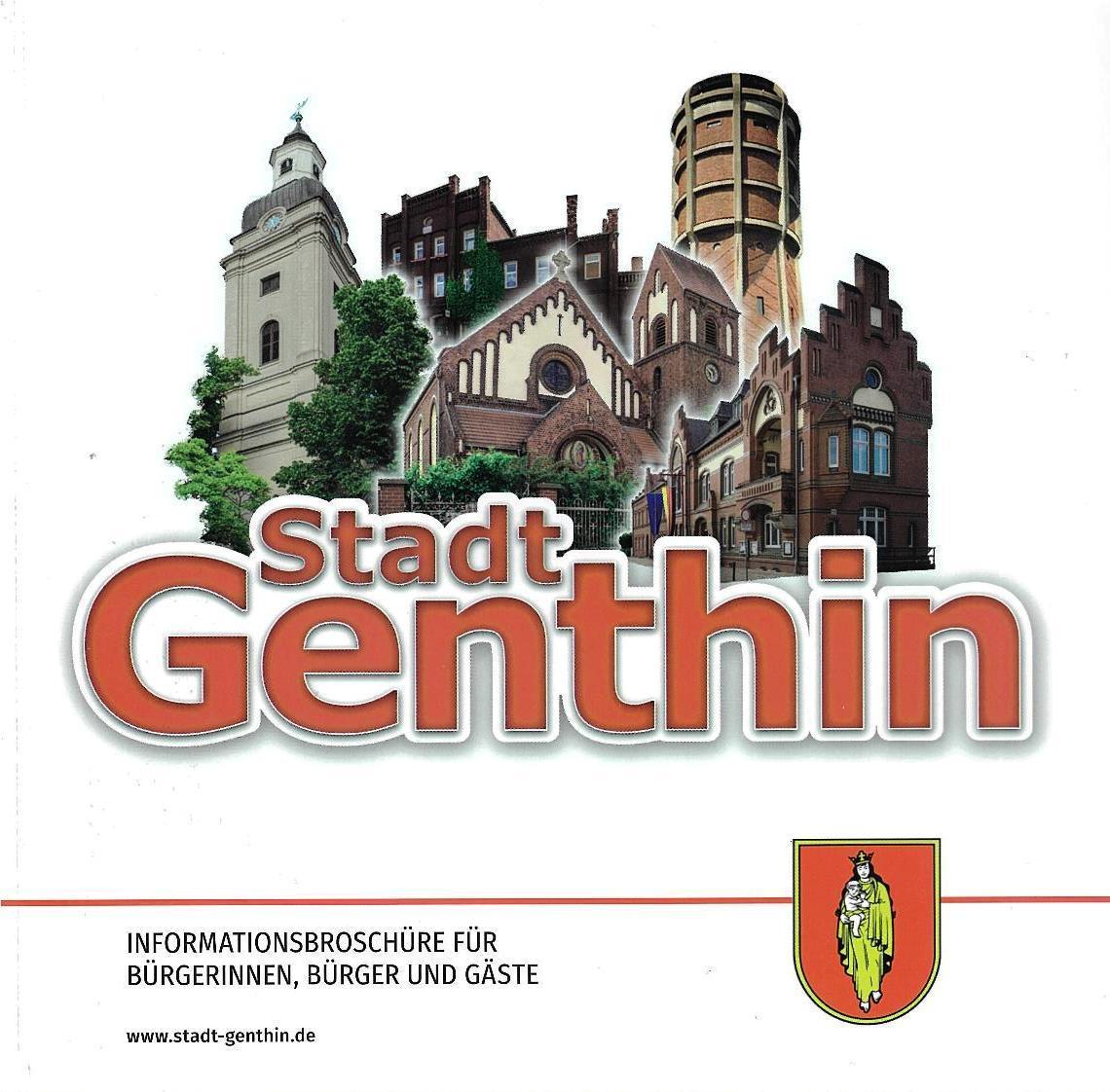 Titelblatt Informationsbroschüre Genthin