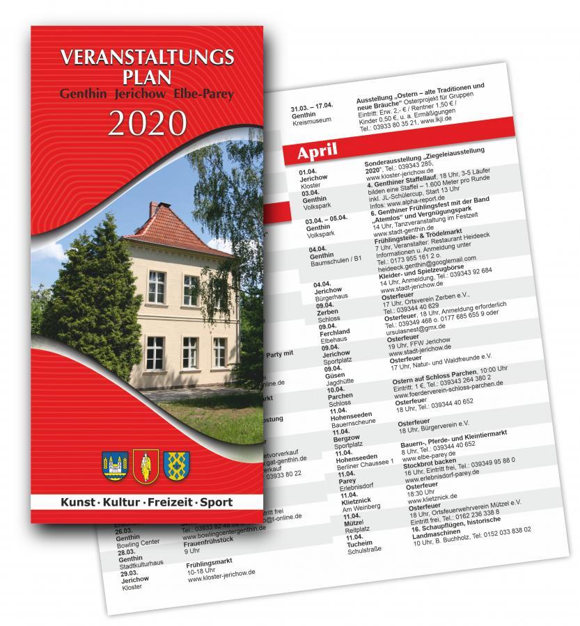 Veranstaltungsplan 2020