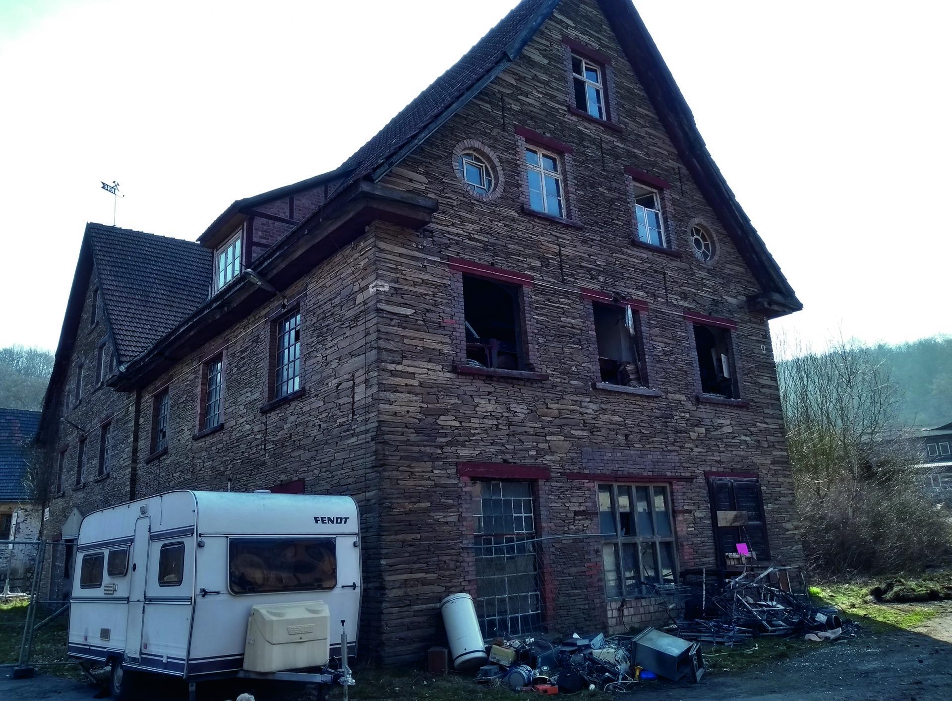 Alte Fabrik nach Abzug der Polen