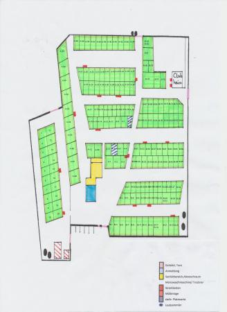 Campingplatz Lageplan