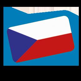 Fahne Tschechisch