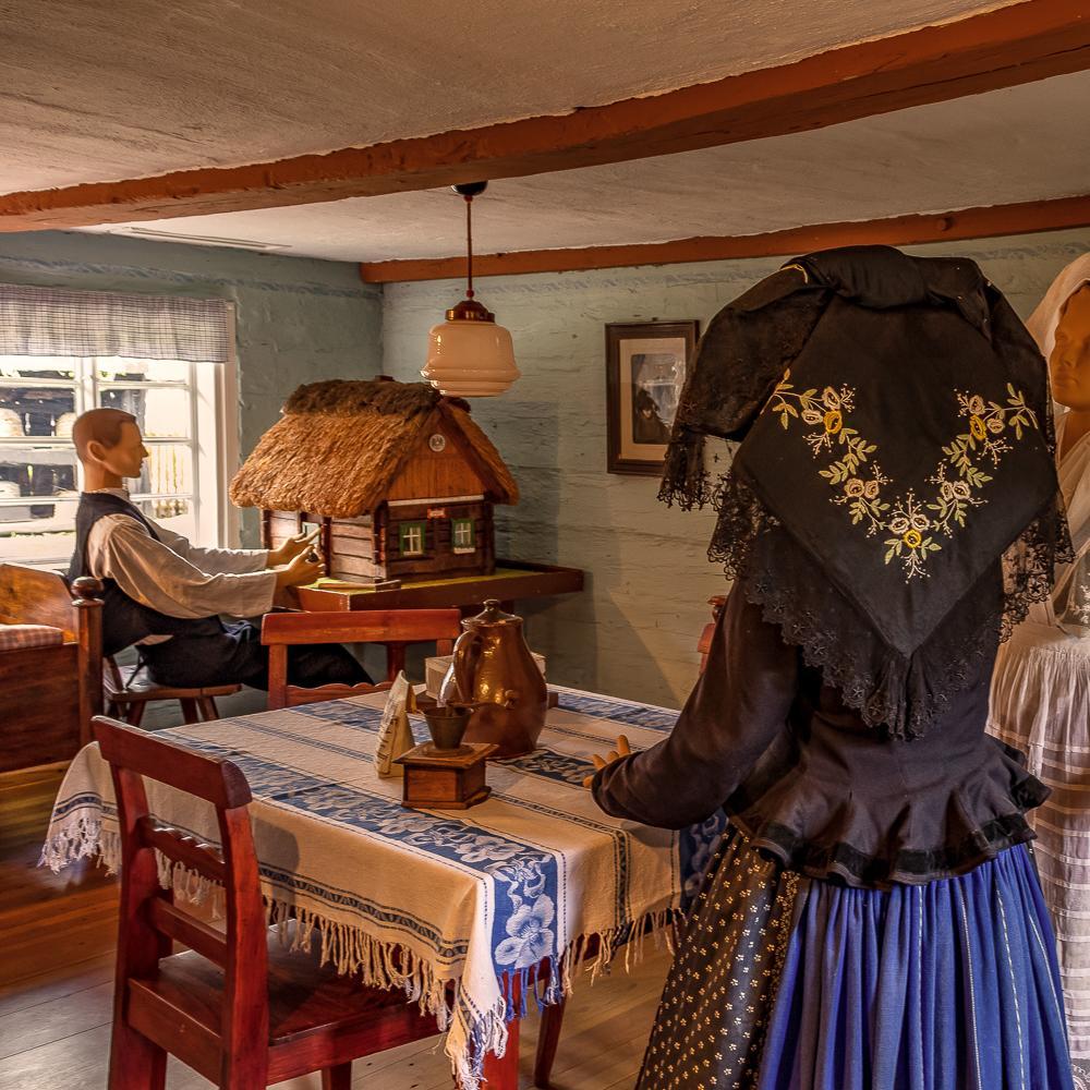 Freilandmuseum Lehde, Hof aus Burg  Foto: Mario Koch Fotografie