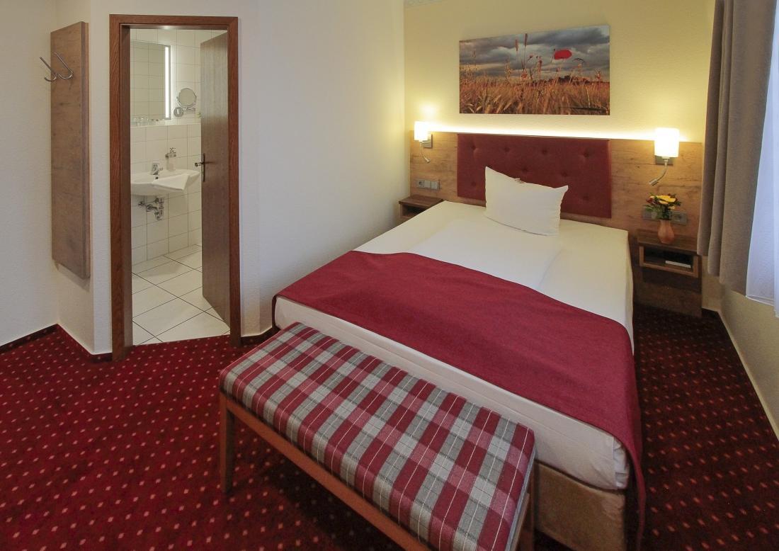 Einzelzimmer Burg Hotel