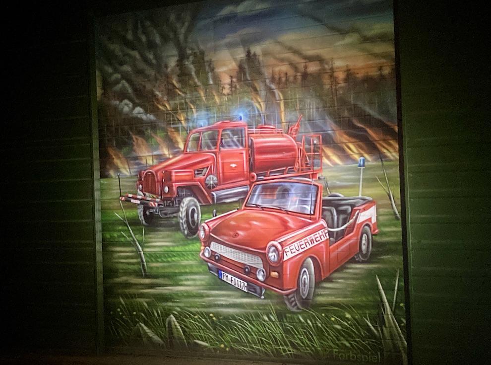 Feuerwehrtor