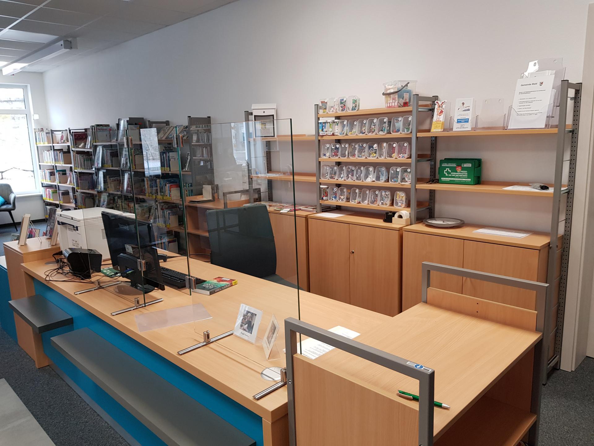 Bücherei Gemeinde Wald 1